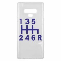 Чехол для Samsung Note 9 Коробка передач - FatLine