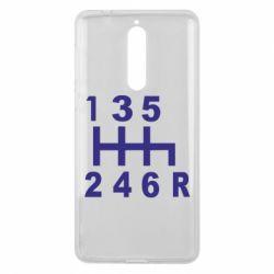 Чехол для Nokia 8 Коробка передач - FatLine