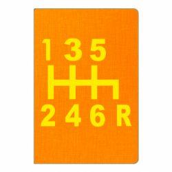 Блокнот А5 Коробка передач - FatLine