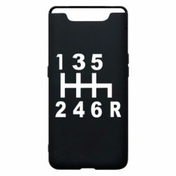 Чехол для Samsung A80 Коробка передач - FatLine