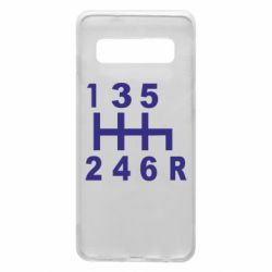Чехол для Samsung S10 Коробка передач - FatLine