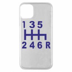 Чехол для iPhone 11 Pro Коробка передач