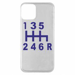Чехол для iPhone 11 Коробка передач - FatLine