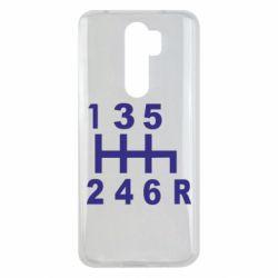 Чехол для Xiaomi Redmi Note 8 Pro Коробка передач