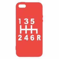 Чехол для iPhone5/5S/SE Коробка передач - FatLine