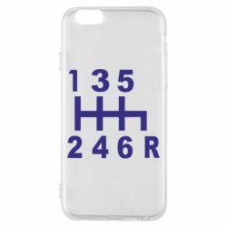 Чехол для iPhone 6/6S Коробка передач - FatLine
