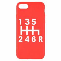 Чехол для iPhone 7 Коробка передач - FatLine