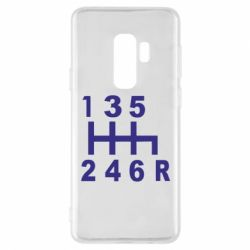 Чехол для Samsung S9+ Коробка передач - FatLine