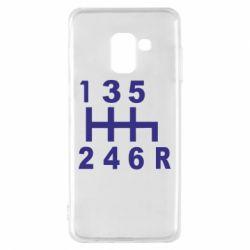 Чехол для Samsung A8 2018 Коробка передач - FatLine