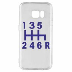 Чехол для Samsung S7 Коробка передач - FatLine