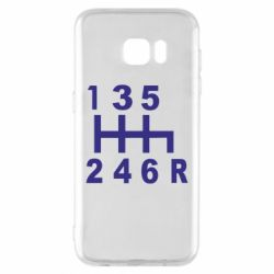 Чехол для Samsung S7 EDGE Коробка передач - FatLine