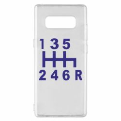 Чехол для Samsung Note 8 Коробка передач - FatLine