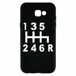 Чехол для Samsung A7 2017 Коробка передач - FatLine