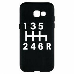 Чехол для Samsung A5 2017 Коробка передач - FatLine