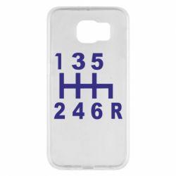 Чехол для Samsung S6 Коробка передач - FatLine