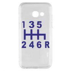 Чехол для Samsung A3 2017 Коробка передач - FatLine