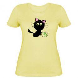 Женская Кошичка и аквариум - FatLine