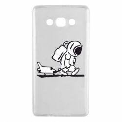 Чохол для Samsung A7 2015 Космонавт