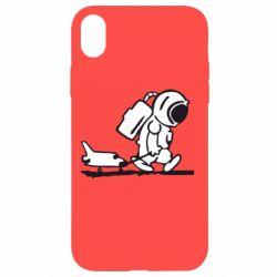 Чохол для iPhone XR Космонавт