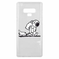 Чохол для Samsung Note 9 Космонавт