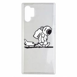 Чохол для Samsung Note 10 Plus Космонавт