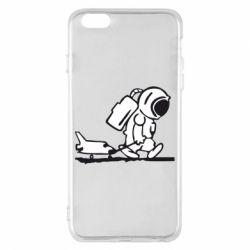 Чохол для iPhone 6 Plus/6S Plus Космонавт