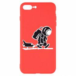 Чохол для iPhone 8 Plus Космонавт