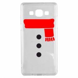 Чохол для Samsung A5 2015 Костюм сніговика