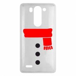 Чехол для LG G3 mini/G3s Костюм снеговика - FatLine