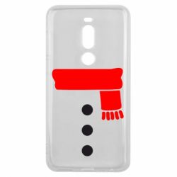 Чехол для Meizu V8 Pro Костюм снеговика - FatLine