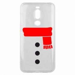 Чехол для Meizu X8 Костюм снеговика - FatLine