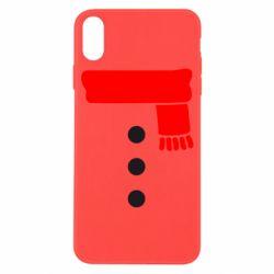 Чохол для iPhone X/Xs Костюм сніговика