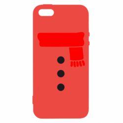 Чохол для iphone 5/5S/SE Костюм сніговика
