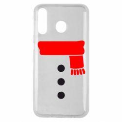 Чохол для Samsung M30 Костюм сніговика