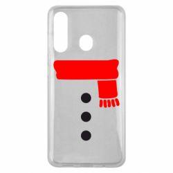 Чохол для Samsung M40 Костюм сніговика