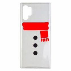 Чохол для Samsung Note 10 Plus Костюм сніговика