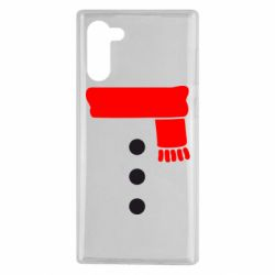 Чохол для Samsung Note 10 Костюм сніговика
