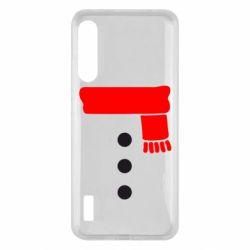 Чохол для Xiaomi Mi A3 Костюм сніговика