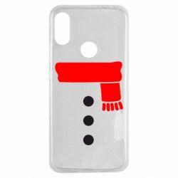 Чехол для Xiaomi Redmi Note 7 Костюм снеговика
