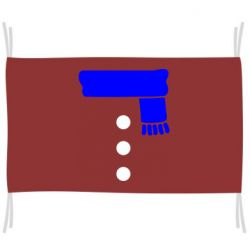 Прапор Костюм сніговика