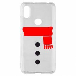 Чехол для Xiaomi Redmi S2 Костюм снеговика