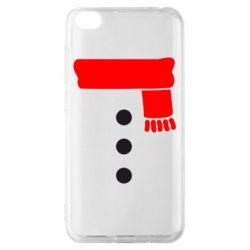 Чехол для Xiaomi Redmi Go Костюм снеговика