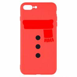 Чохол для iPhone 8 Plus Костюм сніговика