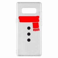 Чохол для Samsung Note 8 Костюм сніговика