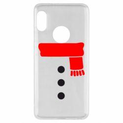 Чехол для Xiaomi Redmi Note 5 Костюм снеговика - FatLine