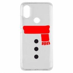 Чохол для Xiaomi Mi A2 Костюм сніговика