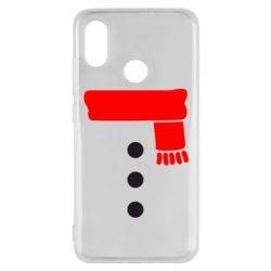 Чохол для Xiaomi Mi8 Костюм сніговика