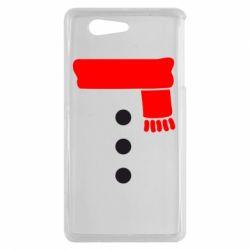 Чехол для Sony Xperia Z3 mini Костюм снеговика - FatLine