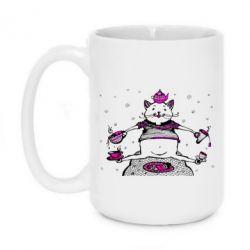 Кружка 420ml Кот чайный бармен