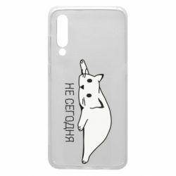 Чехол для Xiaomi Mi9 Кот и надпись Не сегодня